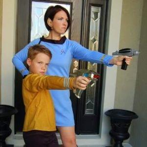 Dresses & Skirts - Classic Star Trek Blue Dress for Cosplay
